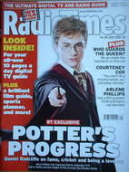<!--2007-07-14-->Radio Times magazine - Daniel Radcliffe cover (14-20 July