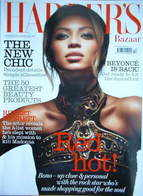 Harper's Bazaar magazine - October 2006 - Beyonce Knowles cover