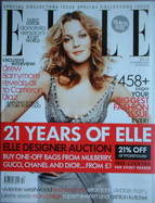 <!--2006-10-->British Elle magazine - October 2006 - Drew Barrymore cover