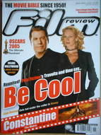 Film Review magazine - John Travolta & Uma Thurman cover (April 2005)