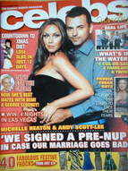 <!--2006-11-->Celebs magazine - Michelle Heaton & Andy Scott-Lee cover (Nov