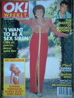 <!--1996-09-22-->OK! magazine - Cilla Black cover (22 September 1996 - Issu