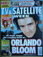 TV & Satellite Week magazine - Orlando Bloom cover (5-11 August 2006)