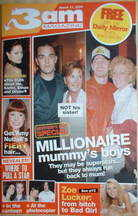 3am magazine - Robbie Williams & Justin Timberlake cover (17 March 2004)