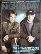 Night & Day magazine - Tom Cruise & Steven Spielberg (War Of The Worlds Col
