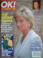 <!--1996-10-06-->OK! magazine - Princess Diana cover (6 October 1996 - Issu