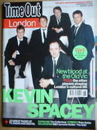Time Out magazine - Kevin Spacey cover (1-8 September 2004)