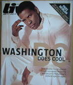 <!--2006-12-10-->Live magazine - Denzel Washington cover (10 December 2006)