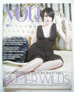 <!--2009-01-25-->You magazine - Rumer Willis cover (25 January 2009)
