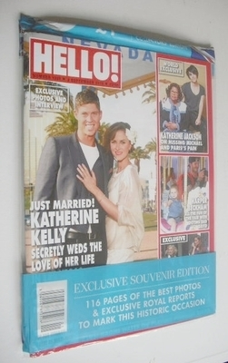 <!--2013-09-02-->Hello! magazine - Katherine Kelly cover (2 September 2013