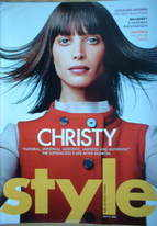 <!--2005-07-17-->Style magazine - Christy Turlington cover (17 July 2005)
