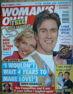 <!--1993-10-04-->Woman's Own magazine - 4 October 1993 - Joe McGann cover