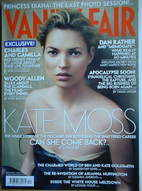 <!--2005-12-->Vanity Fair magazine - Kate Moss cover (December 2005)