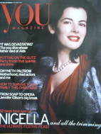<!--2004-12-05-->You magazine - Nigella Lawson cover (5 December 2004)