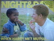 Night & Day magazine - Prince Harry In Lesotho cover (19 September 2004)