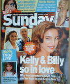 <!--2006-11-19-->Sunday magazine - 19 November 2006 - Kelly Brook cover