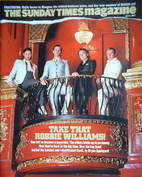 <!--2007-04-01-->The Sunday Times magazine - Take That cover (1 April 2007)