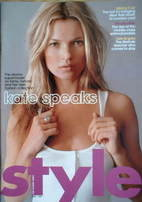 <!--2007-04-01-->Style magazine - Kate Moss cover (1 April 2007)