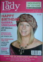 <!--2007-04-24-->The Lady magazine (24-30 April 2007 - Barbra Streisand cover)