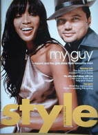<!--2006-03-05-->Style magazine - Naomi Campbell & Gerry DeVeaux cover (5 M