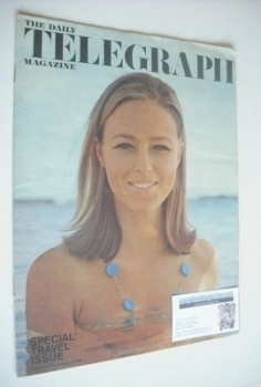 The Daily Telegraph magazine - Special Travel Issue cover (5 January 1968)