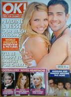 <!--2007-03-27-->OK! magazine - Nadine Coyle & Jesse Metcalfe cover (27 Mar