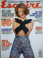 <!--1996-12-->Esquire magazine - Gillian Anderson cover (December 1996/Janu