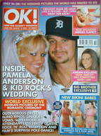<!--2006-08-15-->OK! magazine - Pamela Anderson & Kid Rock wedding cover (1