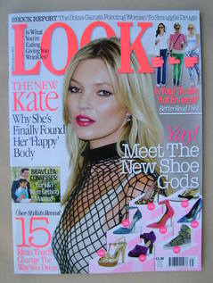Look magazine - 26 August 2013 - Kate Moss cover