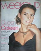 <!--2007-08-11-->Weekend magazine - Coleen McLoughlin cover (11 August 2007)