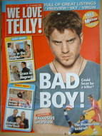 We Love Telly magazine - Robert Kazinsky cover (11-17 August 2007)