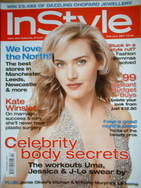 British InStyle magazine - February 2007 - Kate Winslet cover