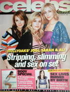 Celebs magazine - Jodi Albert, Ali Bastian, Sarah Dunn cover (9 January 2005)