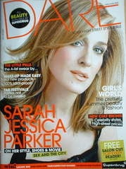 <!--2008-05-->Dare magazine - Sarah Jessica Parker cover (May/June 2008)