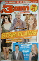3am magazine - Star Flaws cover (27 October 2004)