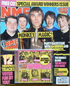 <!--2006-03-04-->NME magazine - NME Awards 2006 cover (4 March 2006)