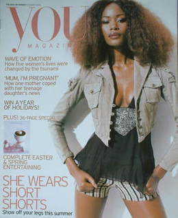 <!--2005-03-20-->You magazine - She Wears Short Shorts cover (20 March 2005