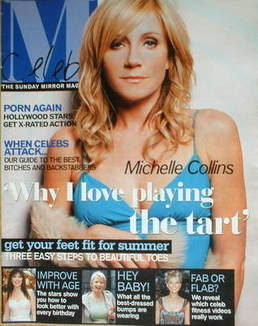 <!--2004-05-09-->Celebs magazine - Michelle Collins cover (9 May 2004)