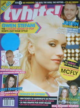 TVHits magazine - July 2007 - Gwen Stefani cover