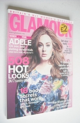 <!--2011-07-->Glamour magazine - Adele cover (July 2011)
