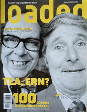 <!--2000-01-->Loaded magazine - Eric Morecambe and Ernie Wise cover (Januar