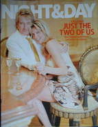 Night & Day magazine - Rod Stewart & Penny Lancaster cover (27 March 2005)