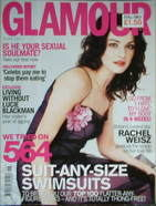 <!--2001-06-->Glamour magazine - Rachel Weisz cover (June 2001)