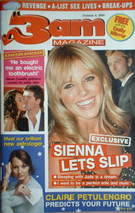 3am magazine - Sienna Miller cover (6 October 2004)