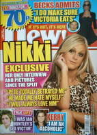 New magazine - 2 October 2006 - Nikki Grahame cover