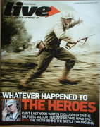 Live magazine - Whatever Happened To The Heroes cover (3 December 2006)