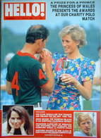 <!--1988-07-09-->Hello! magazine - Princess Diana and Prince Charles cover