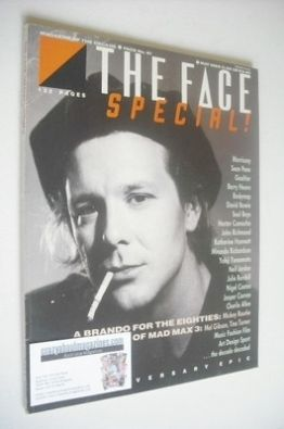 <!--1985-05-->The Face magazine - Mickey Rourke cover (May 1985 - Issue 61)