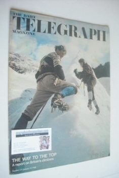 The Daily Telegraph magazine - The Way To The Top cover (12 January 1968)