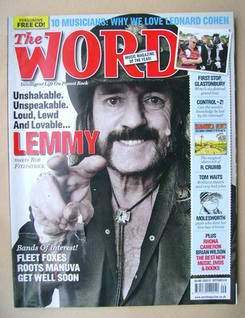<!--2008-09-->The Word magazine - Lemmy cover (September 2008)